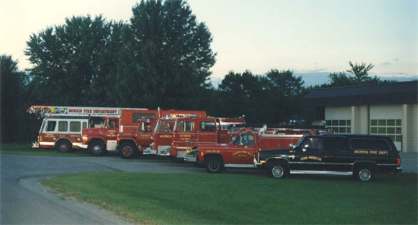 Morris Fire - Retired Trucks